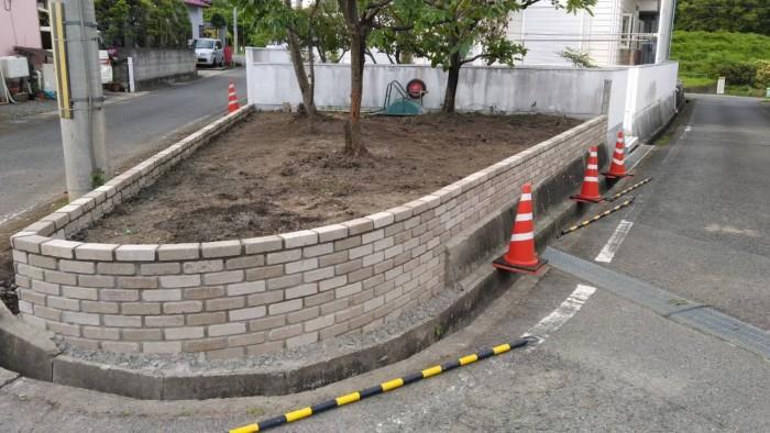 加東市上滝野ブロック塀改修工事_210811_2