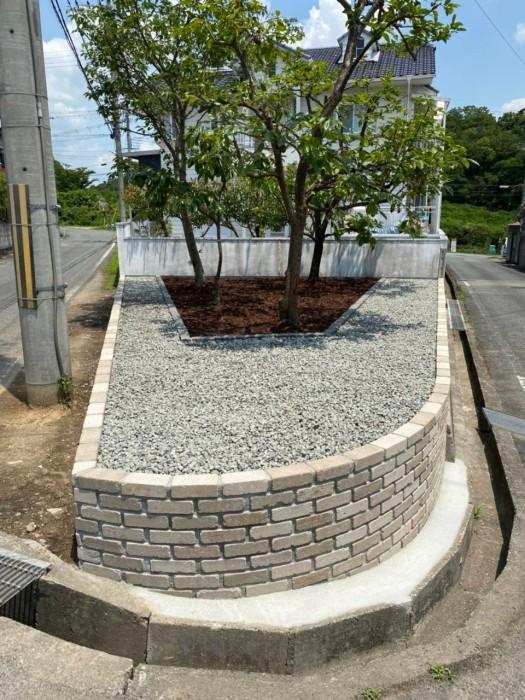 加東市上滝野ブロック塀改修工事_210811_0